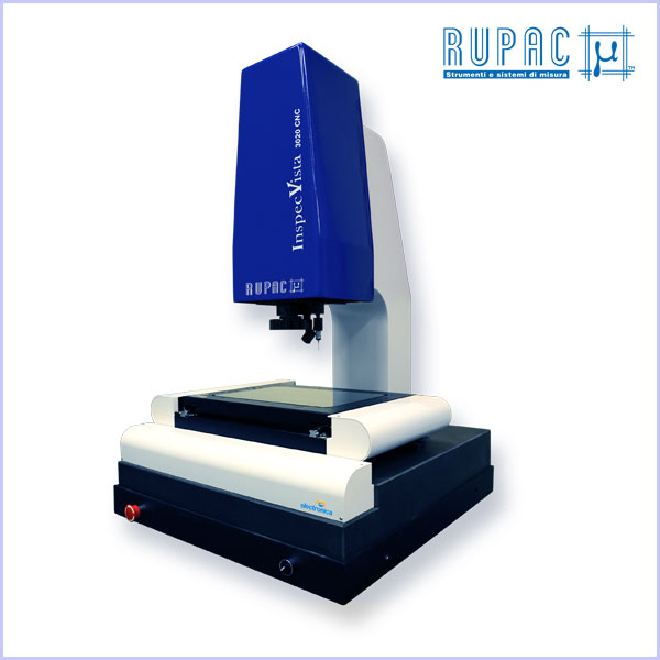 Macchine Ottiche CNC InspecVista Rupac